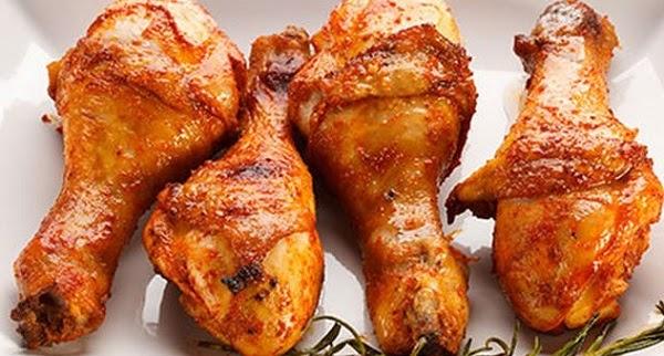 طريقة عمل افخاذ الدجاج المحشية
