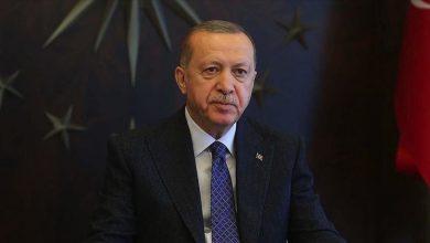 صورة الرئيس أردوغان يدعو لوحدة إسلامية اقتصادية وسياسية