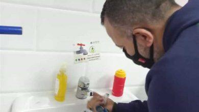 صورة اخبار مصر / «مياه القليوبية» تبدأ تركيب قطع موفرة لترشيد الاستهلاك في دور العبادة (صور)