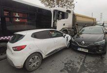 صورة حـ .ـادث تسلسلي على الطريق السريع في إسطنبول