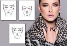 صورة بالصور: طريقة وضع البلاشر بحسب شكل الوجه