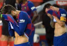 صورة هزيمة برشلونة أمام قادش بهدفين مقابل هدف بالجولة الـ12 من بطولة الدوري