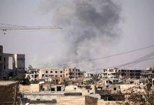 """صورة """"سانا"""": قصف مدفعي تركي على شمالي الحسكة السورية"""