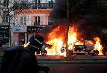 """صورة وزير الداخلية الفرنسي: """"البلطجية يخربون الجمهورية"""""""