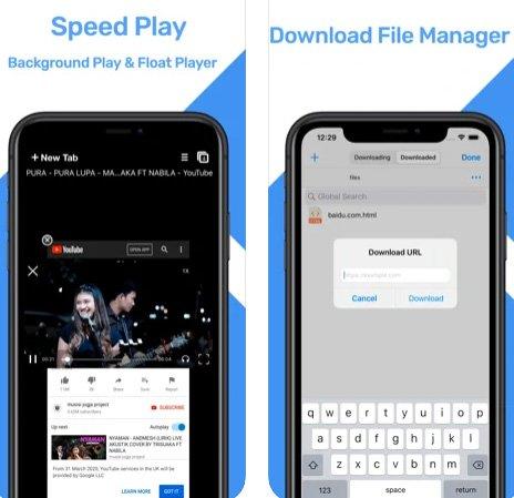 متصفح PPBrowser - أفضل متصفح لتشغيل الفيديو