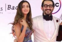 صورة شاهد .. لي بنت أحمد حلمي ومنى زكي تخطف الأنظار في مهرجان القاهرة السينمائي 2020