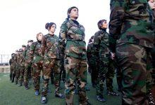 صورة كتيبة إيرانية من النساء لإغراء السوريين والإيقاع بهم (صورة)