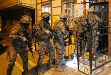 """صورة الشرطة التركية تعتقل عددًا من المشتبه بانتمائهم لـ""""داعش"""" بإسطنبول"""
