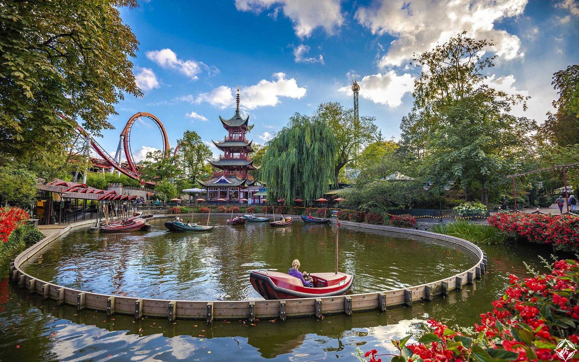حدائق تيفولي الرائعة