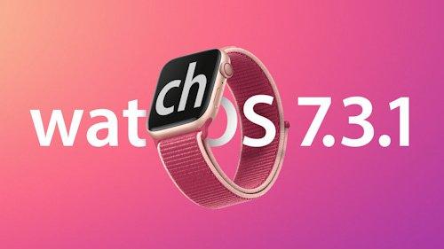 بدأ تحديث WatchOS 7.3.1